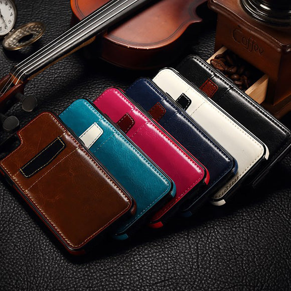 Vintage Leather Wallet iPhone Case