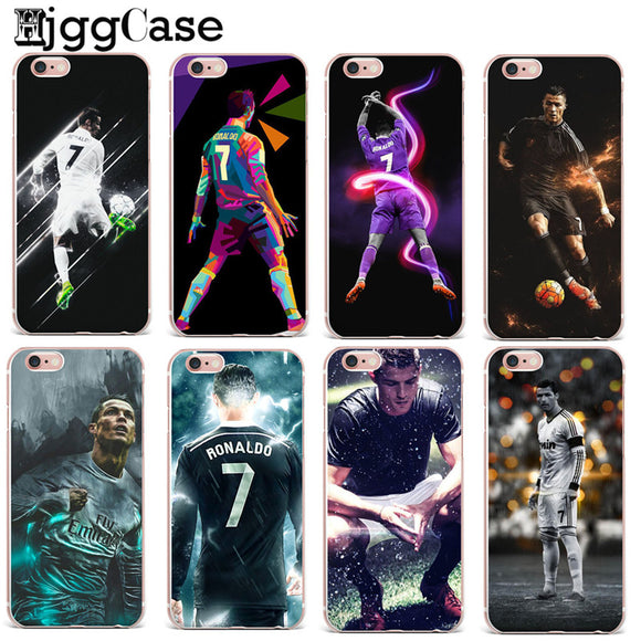 iPhoneGuards cristiano-ronaldo-iphone-case-covers T0871 For iPhone 5 5S SE For-Him iPhone-6 iPhone-6-Plus iPhone-7 iPhone-7-Plus iPhone-8 iPhone-8-Plus iPhone-SE iPhone-X Cristiano-Ronaldo Soccer Sport