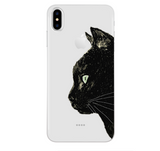 iPhoneGuards drawn-animal-iphone-case-covers 2 For 7Plus and 8Plus Silicon iPhone-6 iPhone-6-Plus iPhone-7 iPhone-7-Plus iPhone-8 iPhone-8-Plus iPhone-X Animal Cartoon Cat Cute Drawn