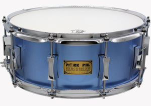 6.5x14 Little Squealer Porcaro Blue Metallic Lacquer