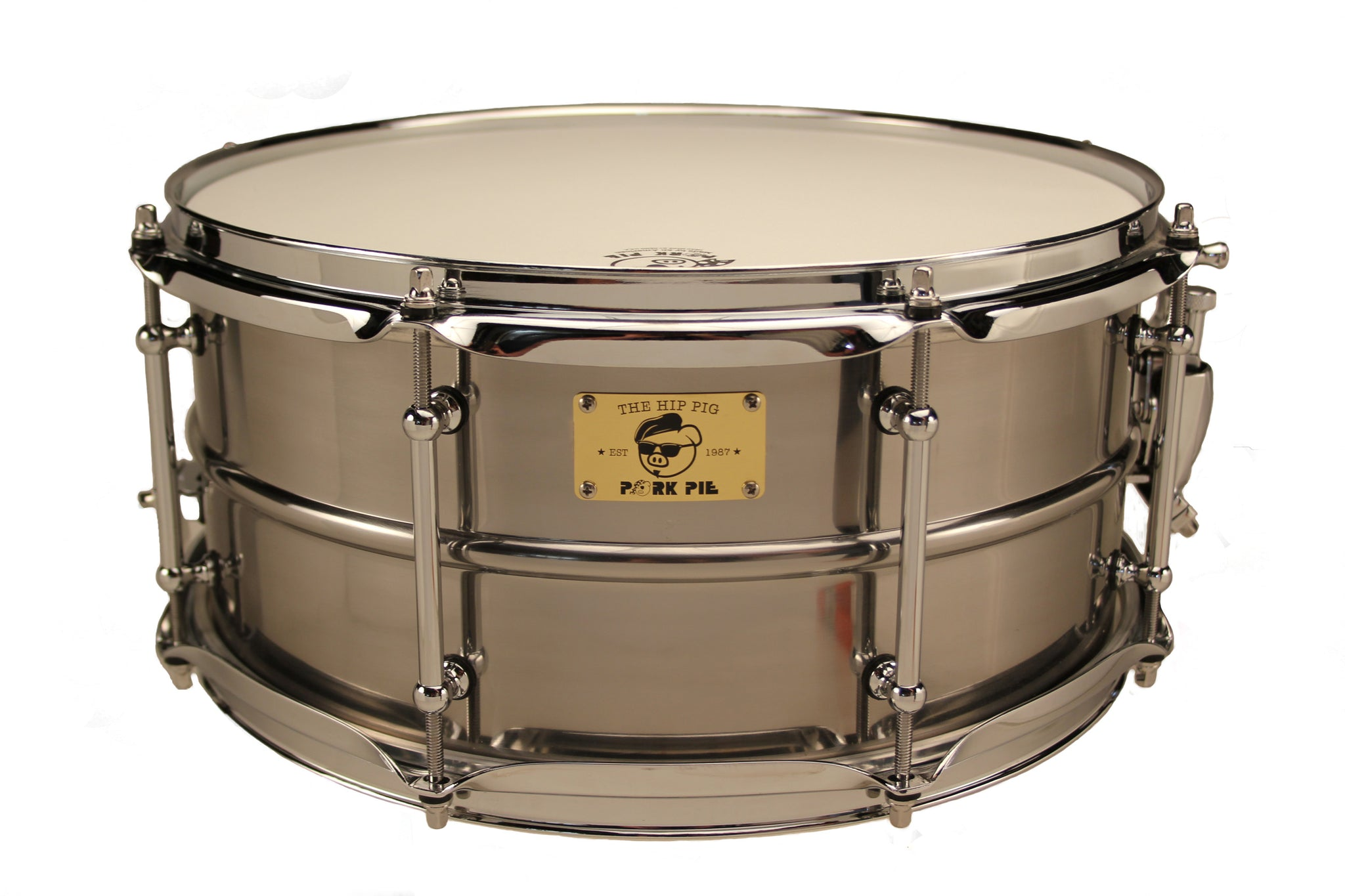 Pig Iron Raw Snare Drum