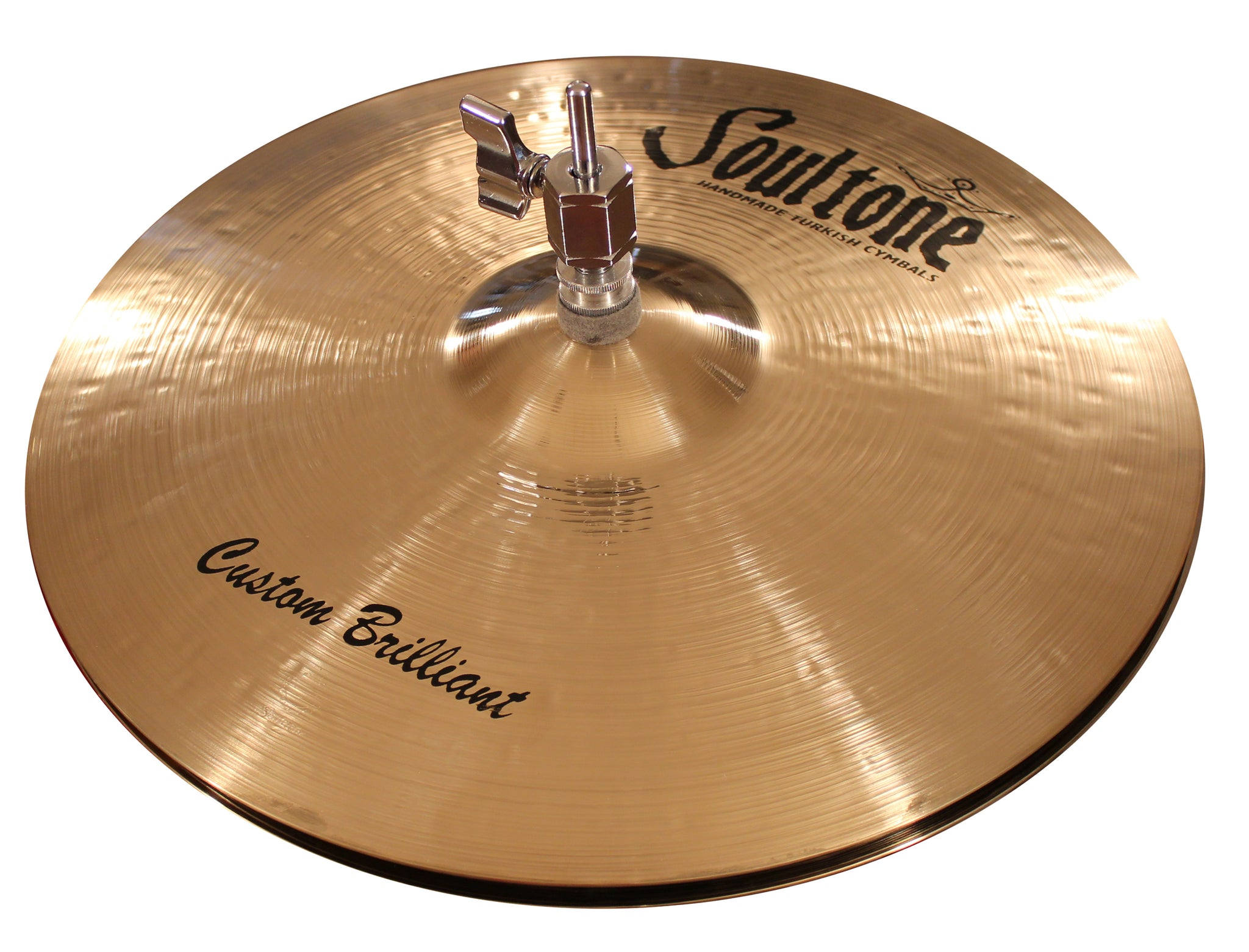 "10"" Custom Brilliant Hi Hats Pair"