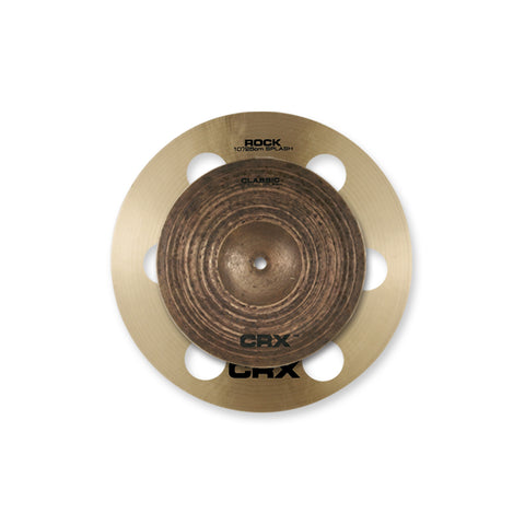 CRX Lo-Sizzle Classic 10″ Splash on Rock 14″ Stacker