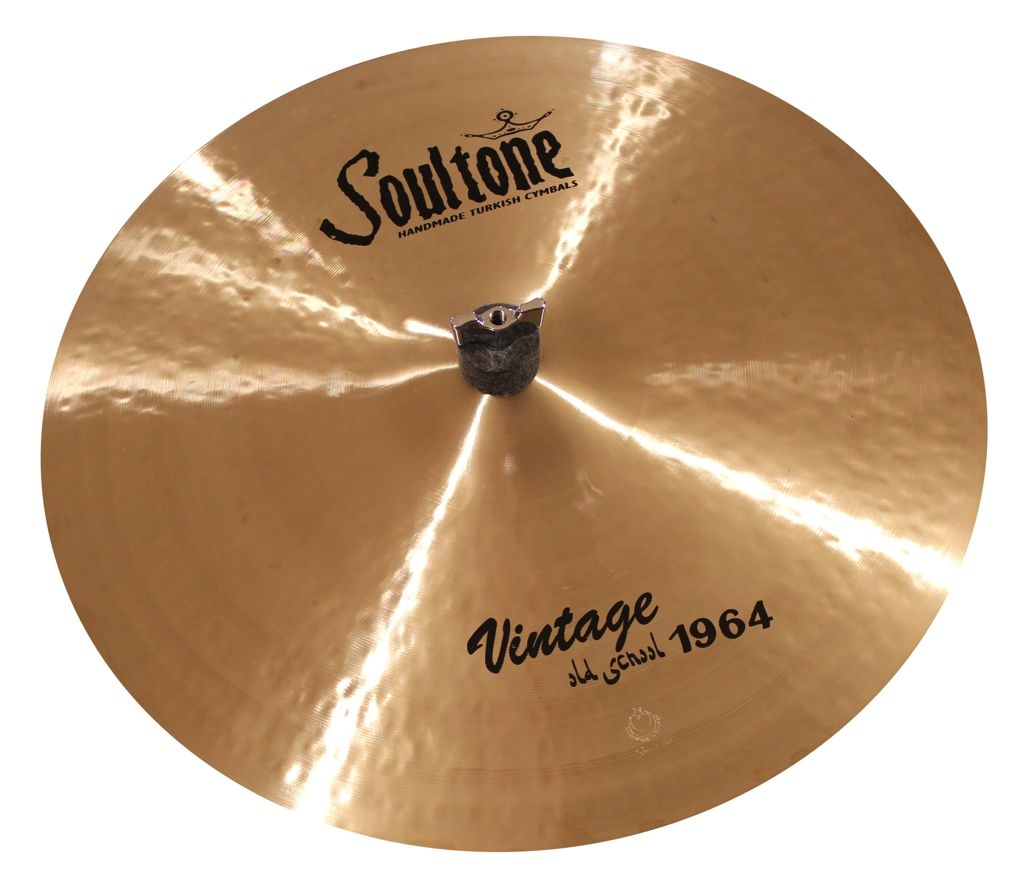 Soultone Cymbals Vintage Old School 1964 Crash