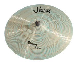 Soultone Cymbals Vintage Old School Patina Crash
