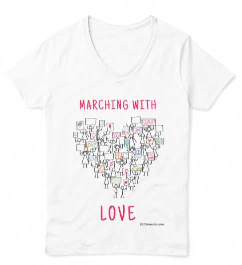 Marching with LOVE (V-Neck)