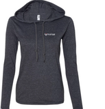 Image of FFD's pull over women's hoodie.