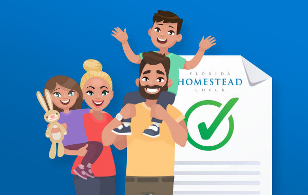 Receive your Homestead Check Icon