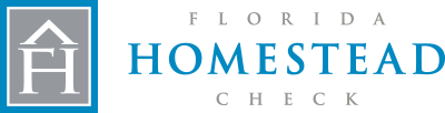 Florida Homestead Check Property Tax Analysis Logo