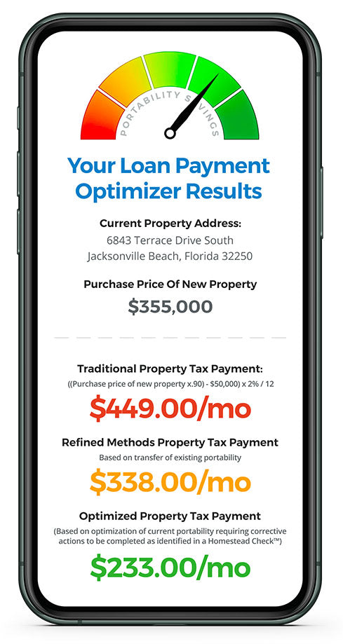 Florida Loan Payment Optimizer Phone Results
