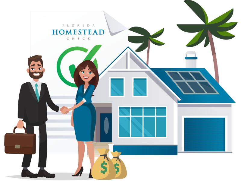 Realtor With Homeowner Florida Homestead Check