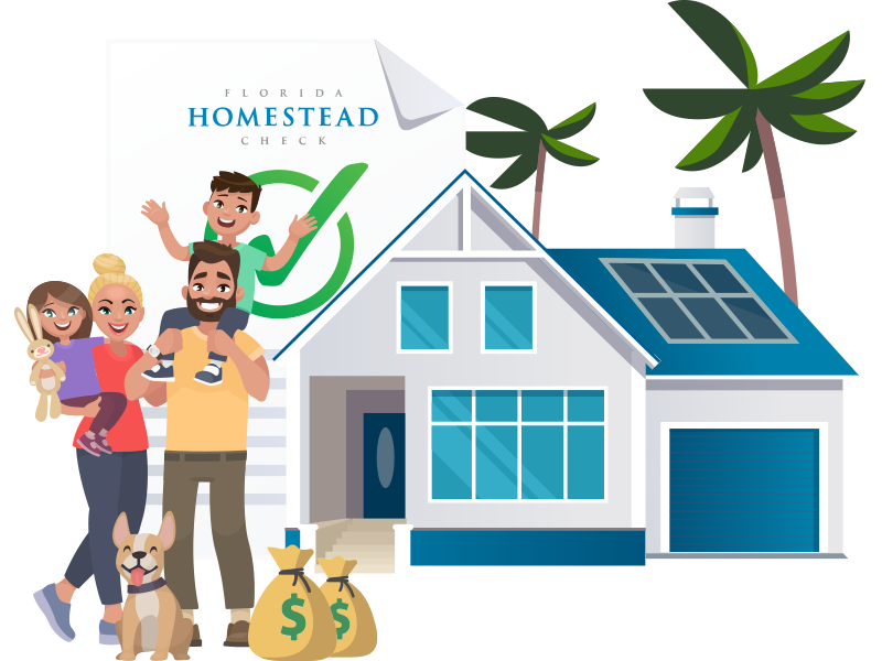 Florida Homestead Check Savings