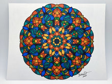 "Load image into Gallery viewer, ""Dreaming of Summer"" - Original Mandala"
