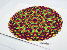 "Load image into Gallery viewer, ""World of Pure Imagination"" - Original Mandala"