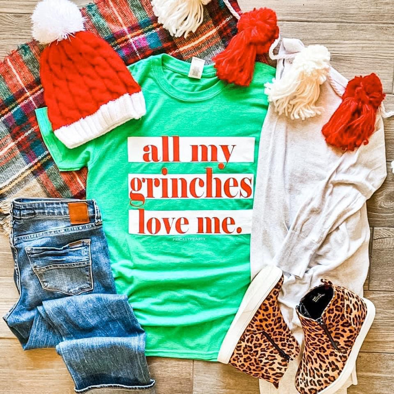 All My Grinches Love Me Graphic T-shirt
