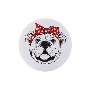 Bulldog Black Collapsible Grip & Stand for Phones and Tablets - Stella's Shabby Boutique