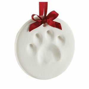 Dog Paw Print Ornament - Stella's Shabby Boutique