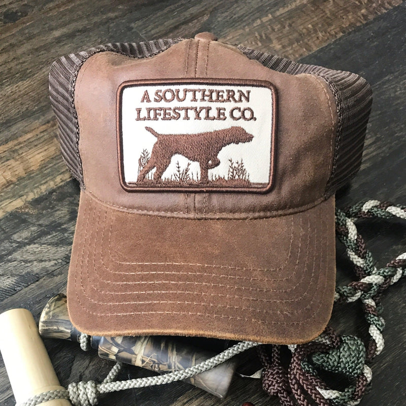 Southern Lifestyle Patch Hat- Earth Tone-Stella's Shabby Boutique