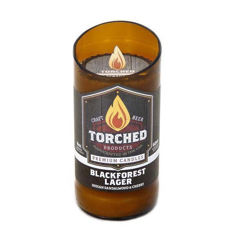 Torched Beer Bottle Candles - Stella's Shabby Boutique