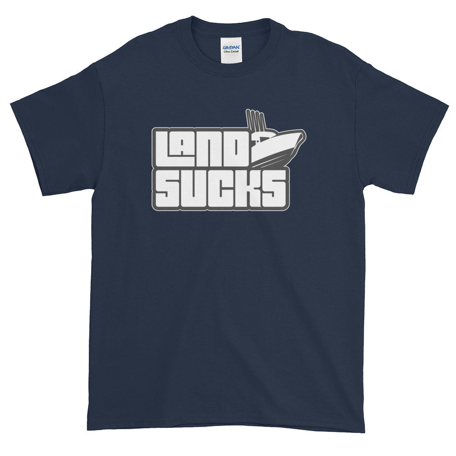 Land Sucks Center Console T-Shirt