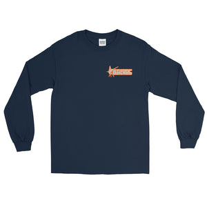 Land Sucks Sportfisher Sunset Long Sleeve T-Shirt
