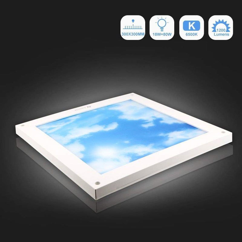 18W 6500K LED Ceiling Light (30x30cm) - Awenia
