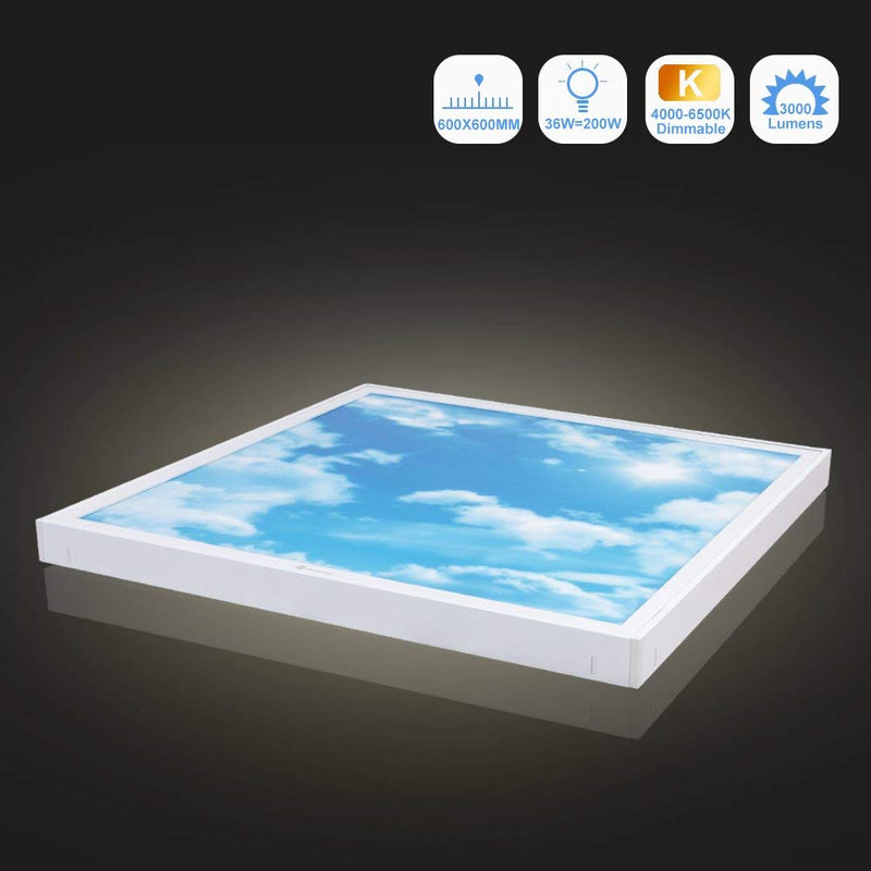 36W Dimmable LED Ceiling Light (60x60cm)