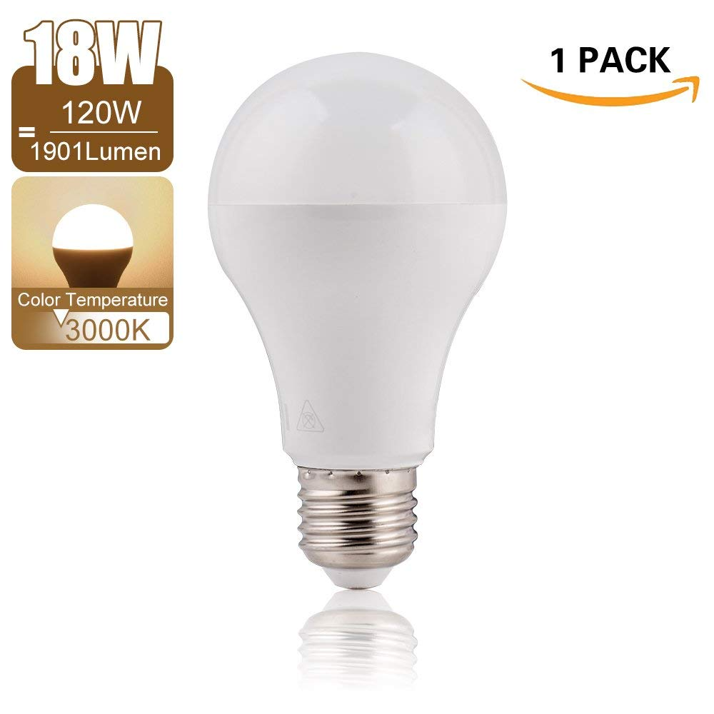 3000K Warm White LED Light Bulb - Awenia