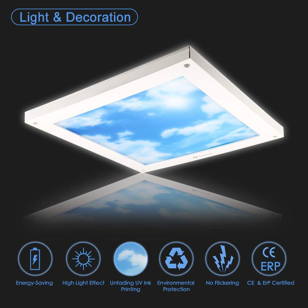 18W Dimmable LED Ceiling Light (30x30cm)