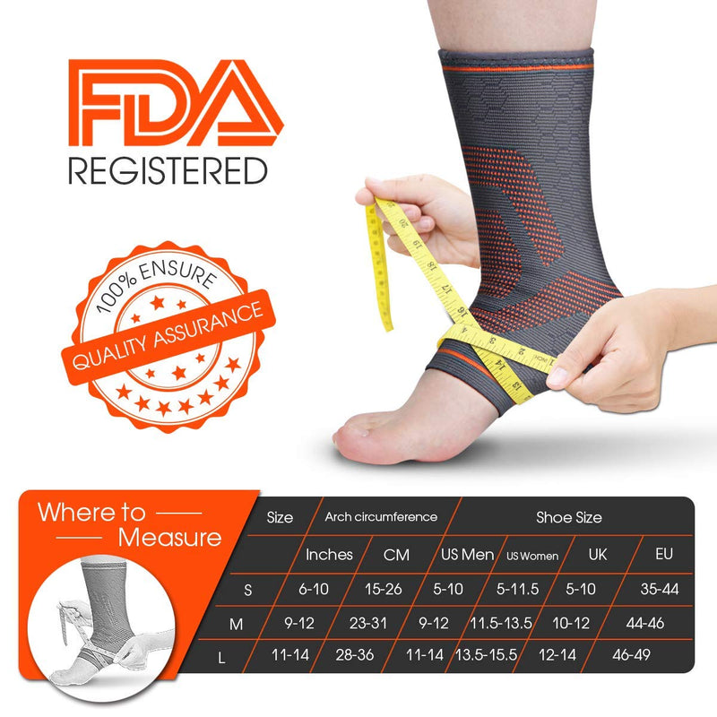 Ankle Compression Sleeve - Awenia