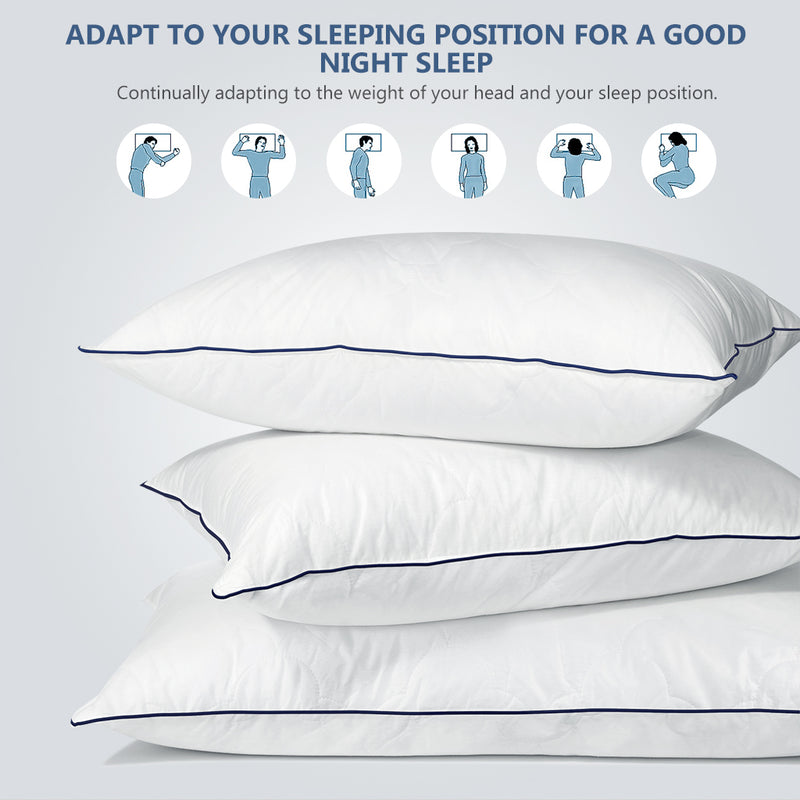 "Goose Down Alternative Pillow, Queen Size (20"" x 30"")"