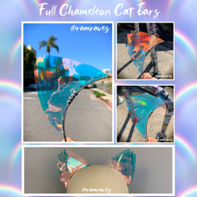 Load image into Gallery viewer, Chameleon Cat Ears- Color Changing