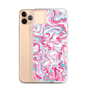 Cotton Candy Swirlz iPhone Case