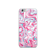 Load image into Gallery viewer, Cotton Candy Swirlz iPhone Case
