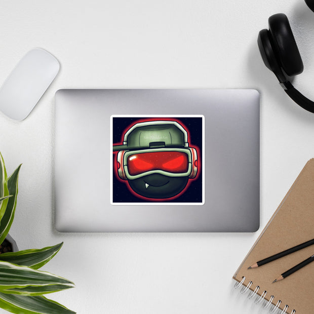SoulShaderArt Sticker Red