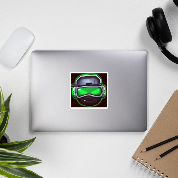 SoulShaderArt Sticker Green