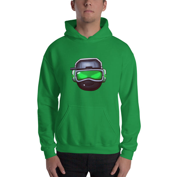 Green Soul Hooded Sweatshirt
