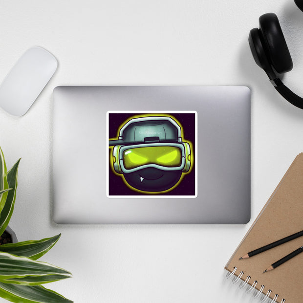 SoulShaderArt Sticker Yellow