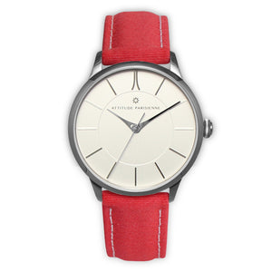 Montre Attitude Rouge brillant