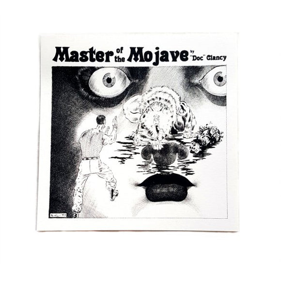 Master of the Mojave Sticker - Rivera Art (Creepy/Eerie Inspired)