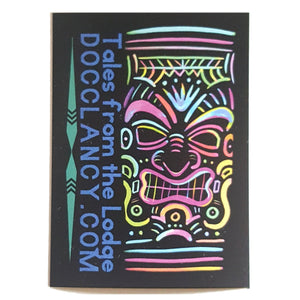 Docclancy.com Sticker - Neon Tiki - ElectricGoonie Art