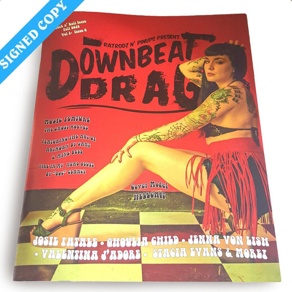 Downbeat Drag V1 #6, Fall 2019 - Limited Print Edition - Signed