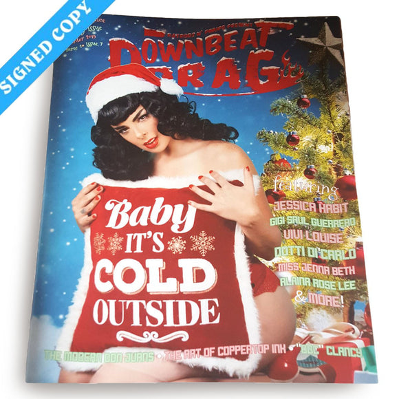 Downbeat Drag Vol 1 #7, Winter 2019 - Limited Print Edition - Signed (Pinups)