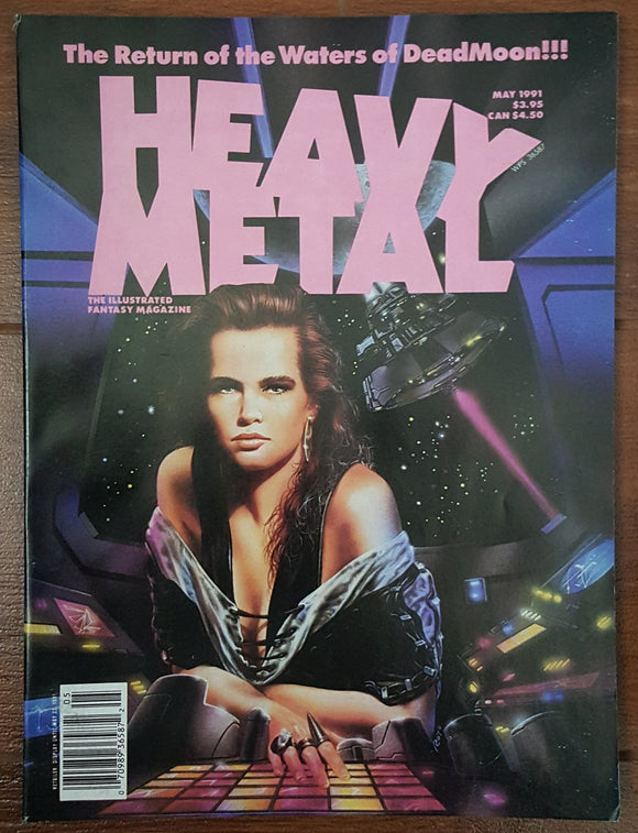 Heavy Metal, May 1991 (Luis Royo)