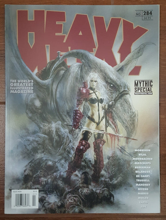 Heavy Metal #284 - 2017 - Out of Print (Taarna by Luis Royo)