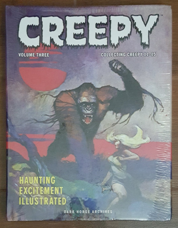 Creepy Archives Vol 3 - Out of Print (Shrink-wrapped - Frank Frazetta)
