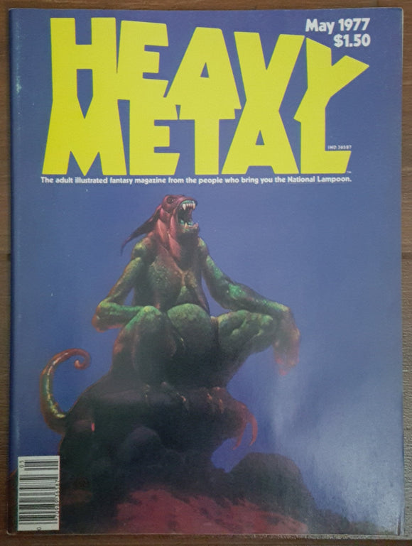 Heavy Metal #2, May 1977 (Jean