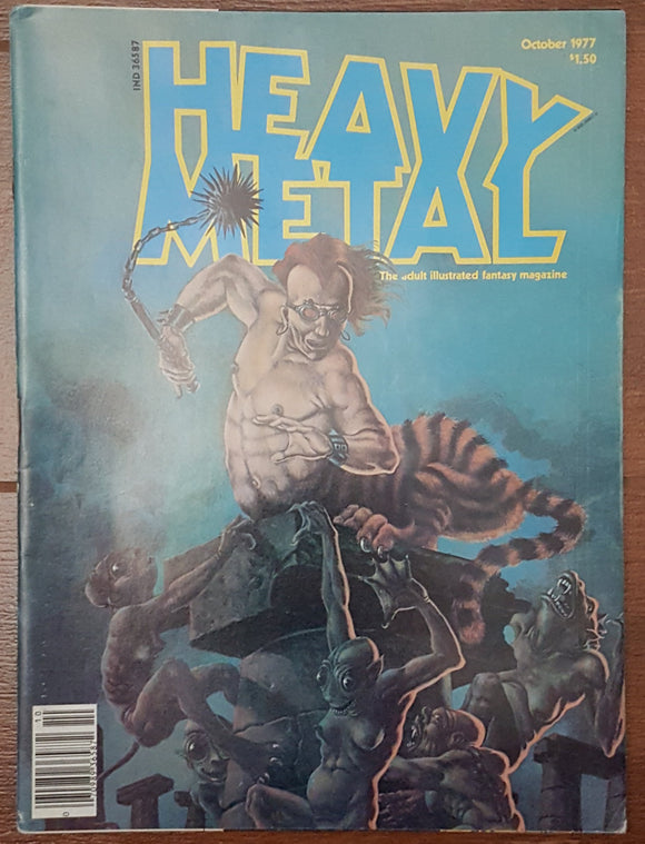 Heavy Metal, October 1977 - Out of Print