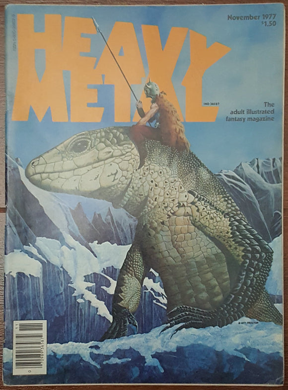 Heavy Metal, November 1977 - Out of Print