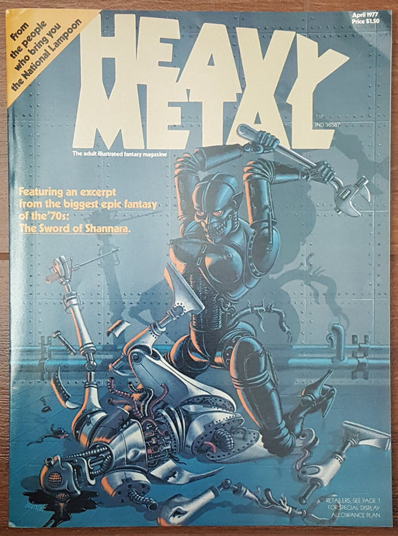 Heavy Metal #1, April 1977 (Premier Issue)